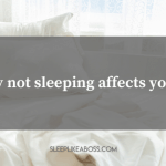 how not sleeping affects your focus